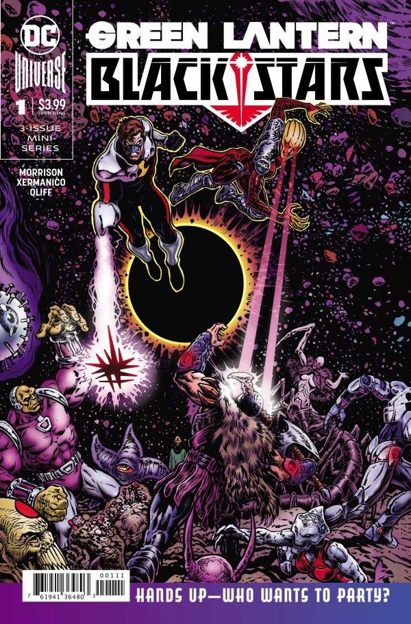 Green Lantern: Blackstars #1