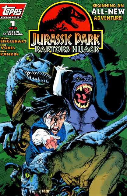 Jurassic Park: Raptors Hijack #1
