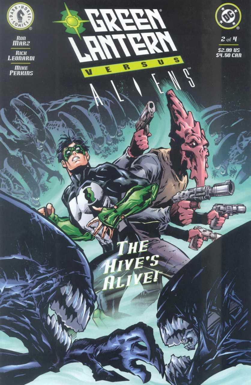 Green Lantern vs. Aliens #2