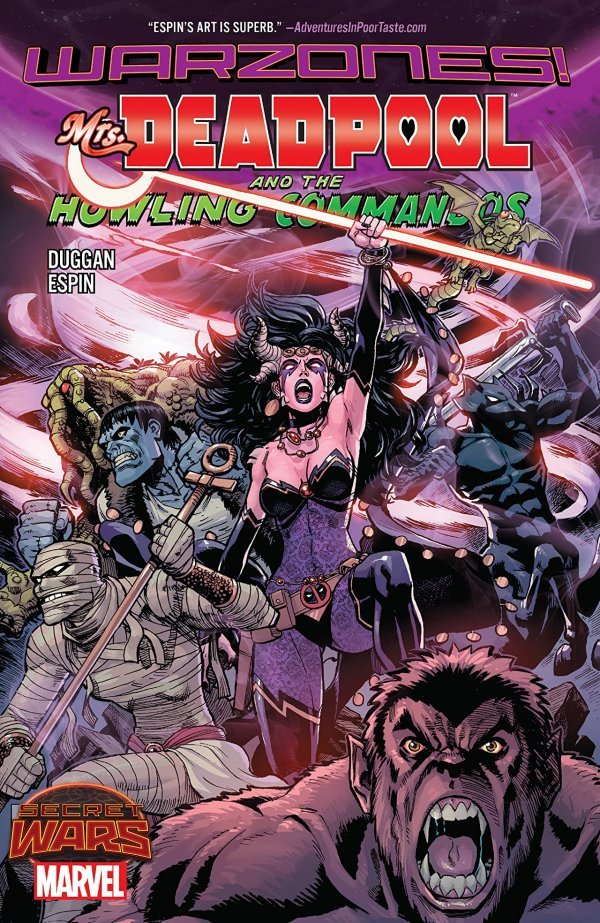 Mrs. Deadpool and the Howling Commandos TP