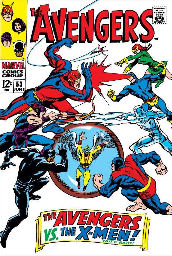 The Avengers #53