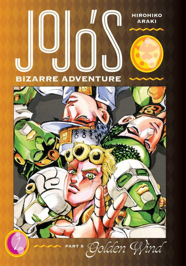 JoJo's Bizarre Adventure: Part 5 - Golden Wind 1 Deluxe HC