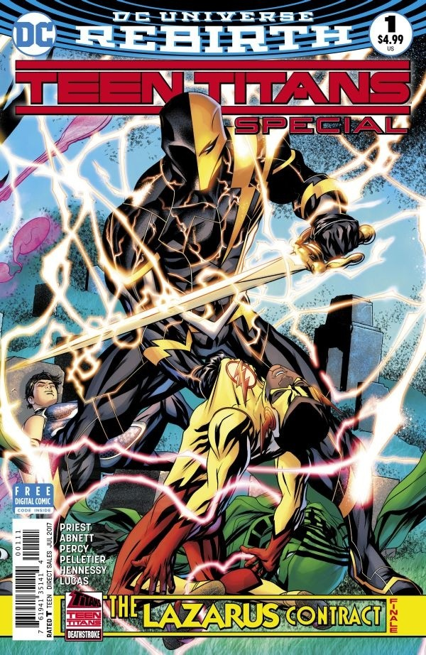 Teen Titans: The Lazarus Contract Special #1