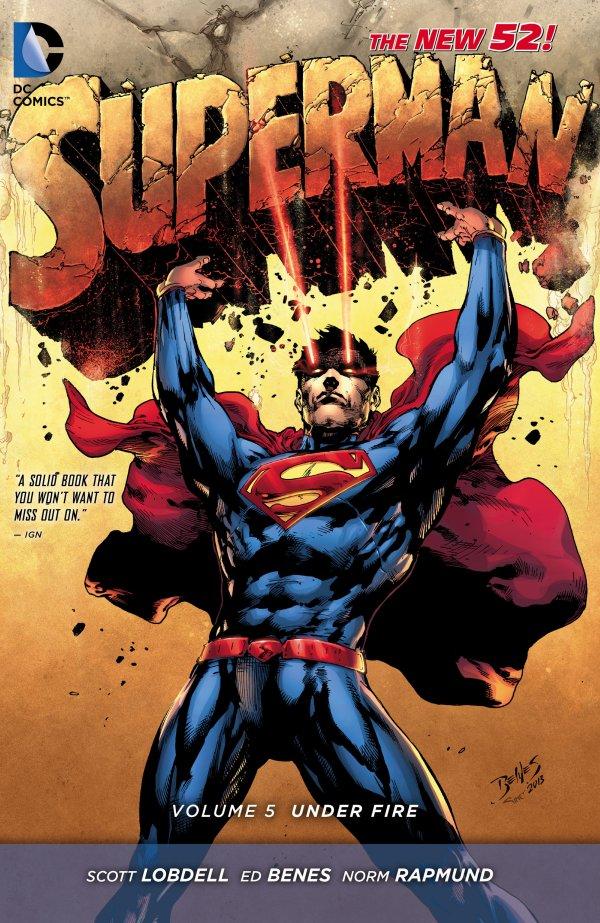 Superman Vol. 5: Under Fire HC