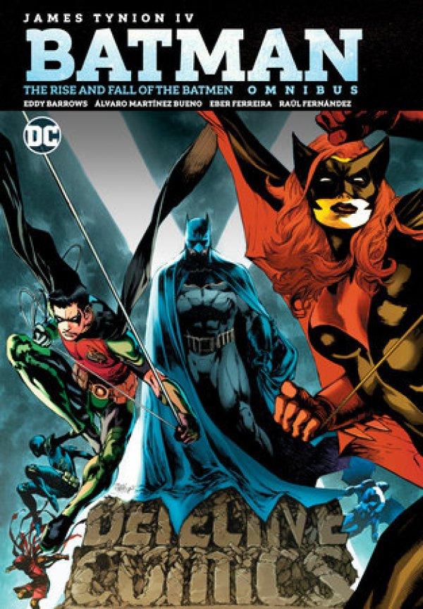 Batman: The Rise and Fall of the Batmen Omnibus HC