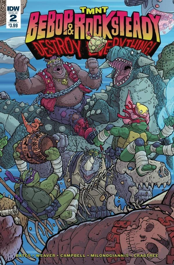 TMNT: Bebop & Rocksteady Destroy Everything #2