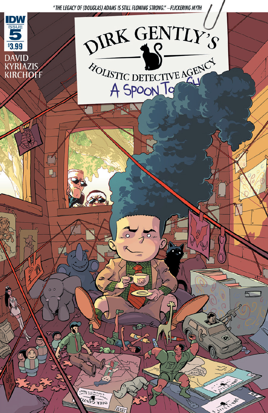 Dirk Gently's Holistic Detective Agency: A Spoon Too Short #5