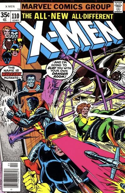 The X-Men #110