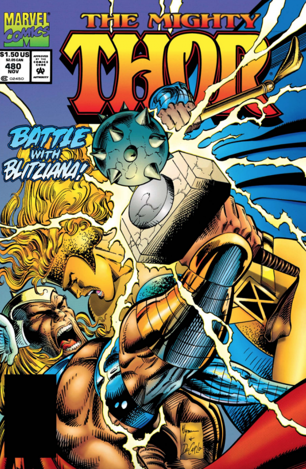 The Mighty Thor #480