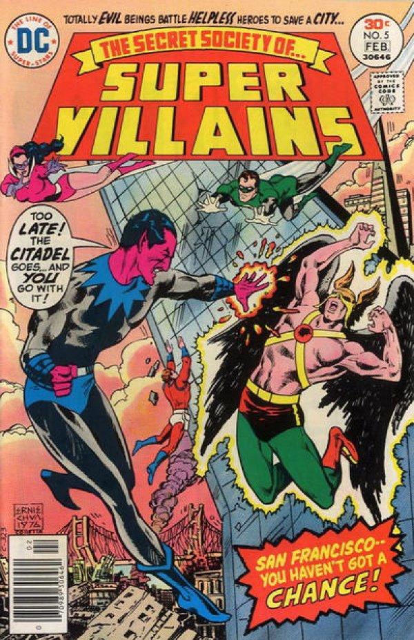 The Secret Society of Super-Villains #5