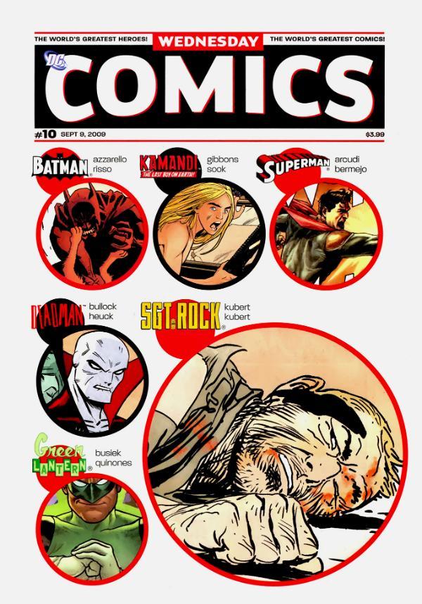 Wednesday Comics #10