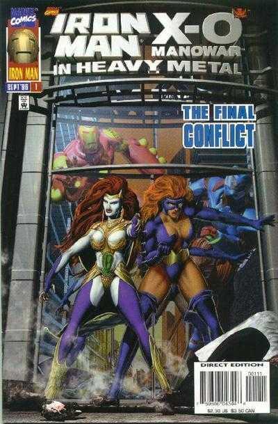 Iron Man / X-O Manowar: In Heavy Metal #1