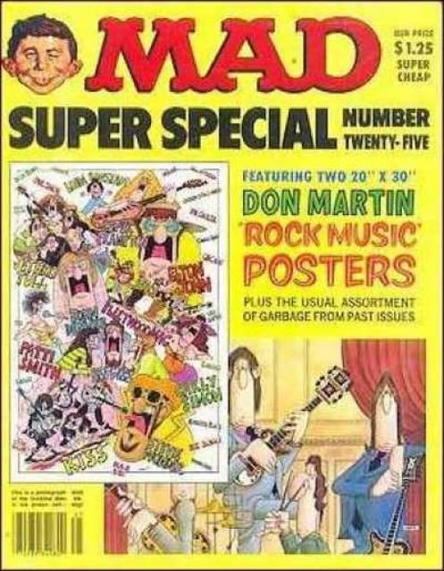 Mad Magazine: Super Special #25