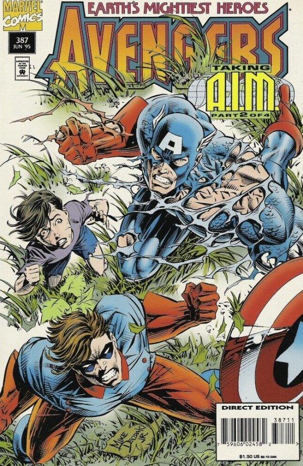 The Avengers #387