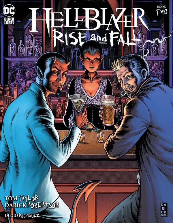 Hellblazer: Rise and Fall #2