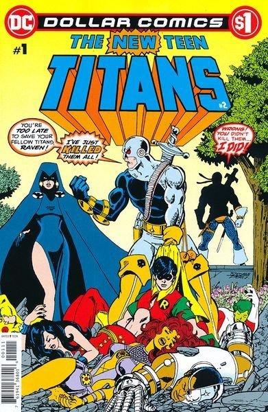 Dollar Comics: The New Teen Titans #2