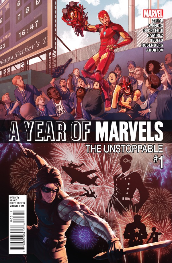 A Year of Marvels: The Unstoppable #1