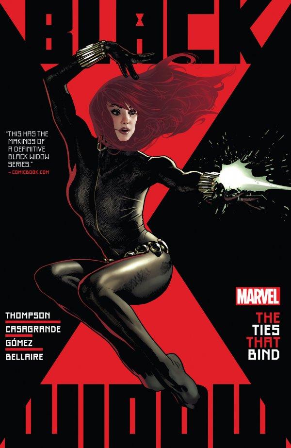 Black Widow by Kelly Thompson Vol. 1: The Ties That Bind TP