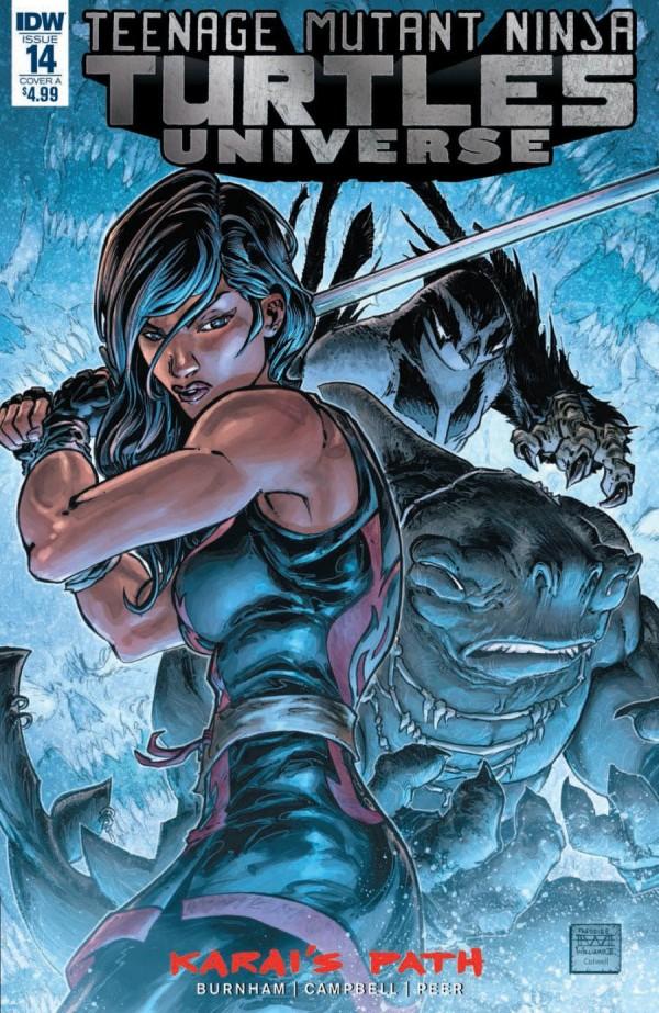 Teenage Mutant Ninja Turtles: Universe #14
