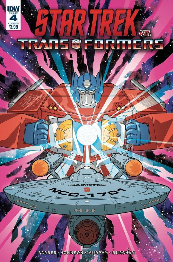Star Trek vs. Transformers #4