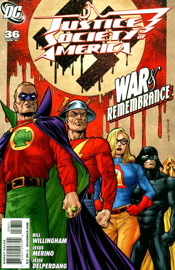 Justice Society of America #36