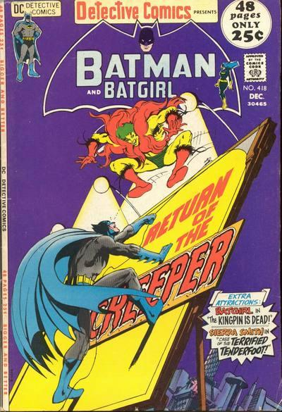 Detective Comics #418