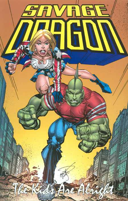 Savage Dragon Vol. 21: The Kids Are Alright TP
