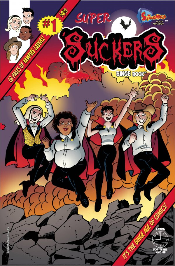 Super 'Suckers Binge Book #1