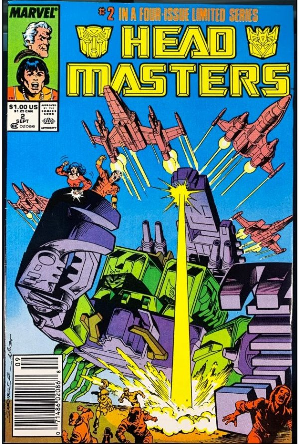 The Transformers: Head Masters #2
