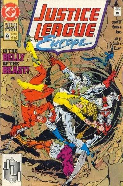 Justice League Europe #25