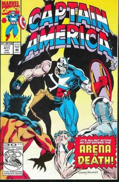 Captain America #411