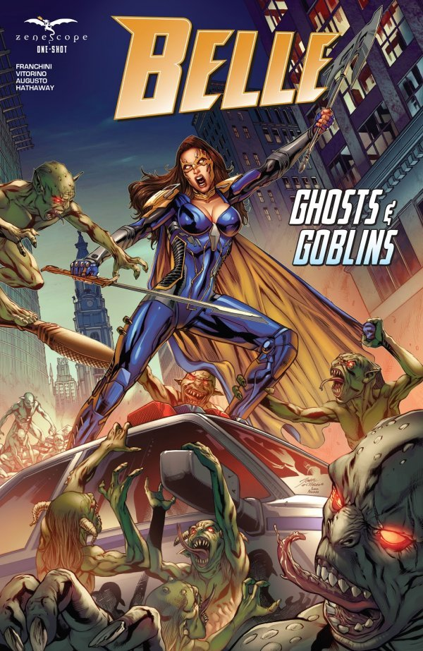 Belle: Ghosts & Goblins #1 review