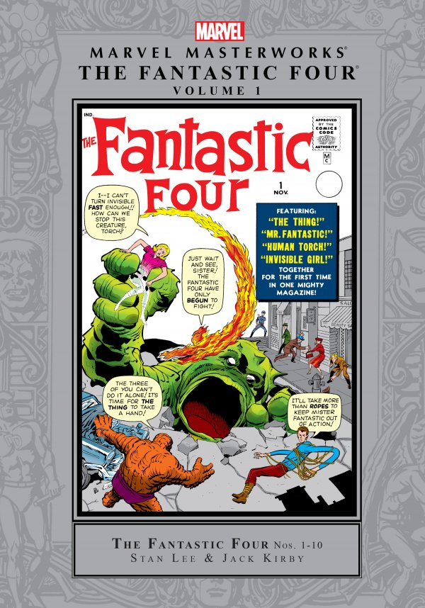 Marvel Masterworks: The Fantastic Four Vol. 1 HC