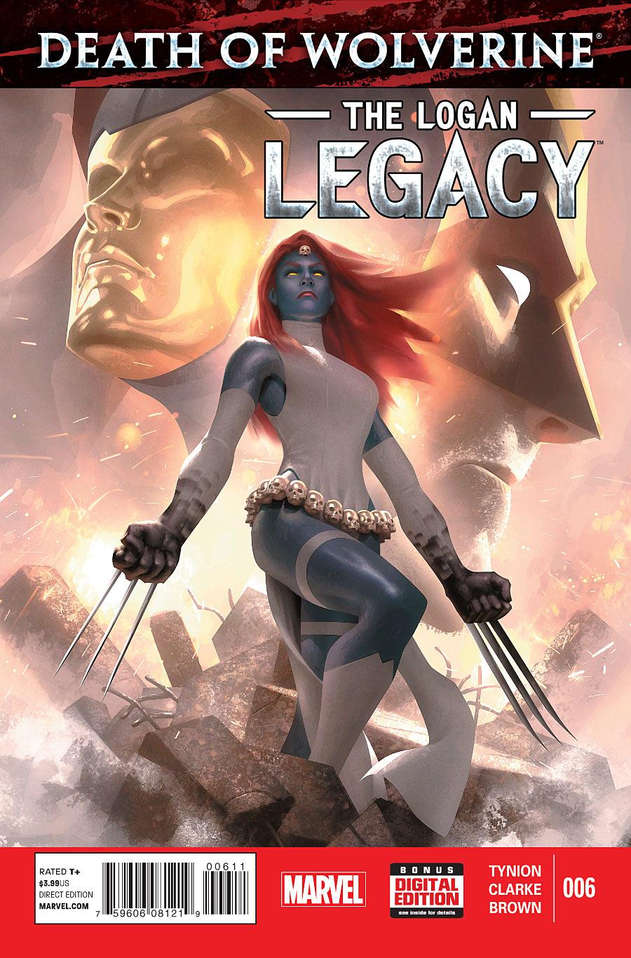 Death of Wolverine: The Logan Legacy #6