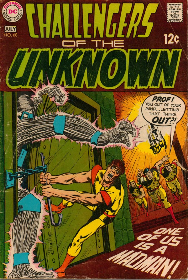 Challengers of the Unknown #68