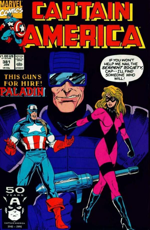 Captain America #381