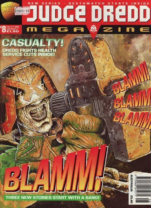 Judge Dredd Megazine #8