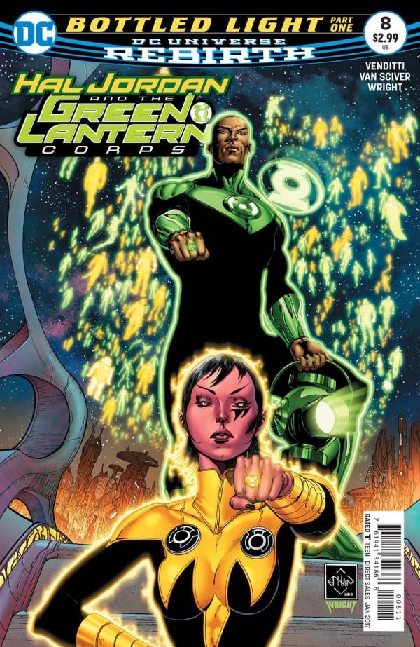 Hal Jordan and the Green Lantern Corps #8
