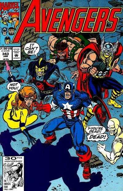 The Avengers #343