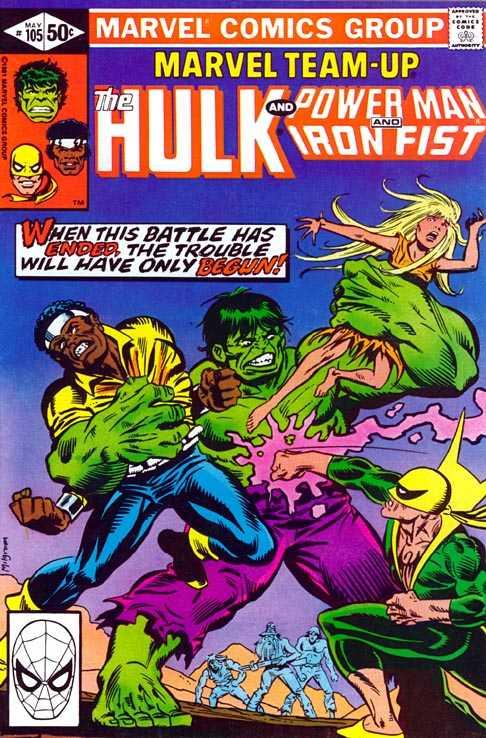 Marvel Team-Up #105