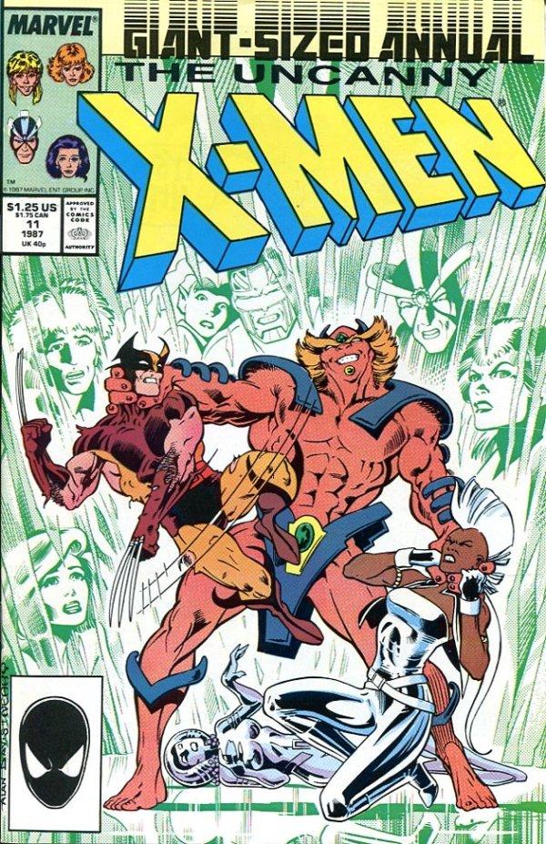 Uncanny X-Men Annual #11