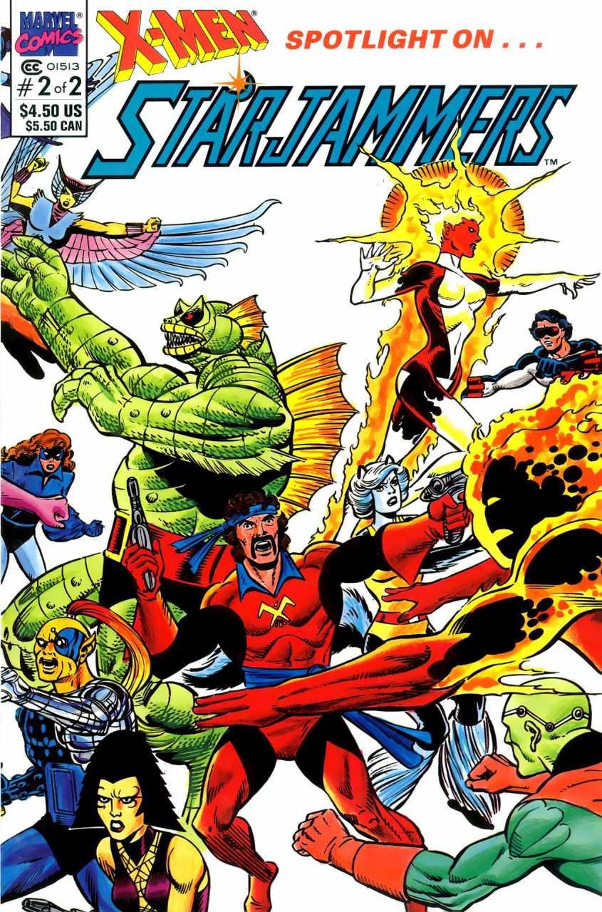 X-Men Spotlight on... Starjammers #2