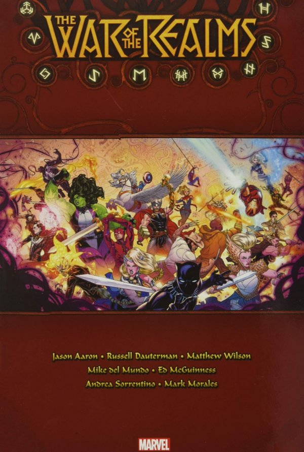 The War of the Realms Omnibus HC
