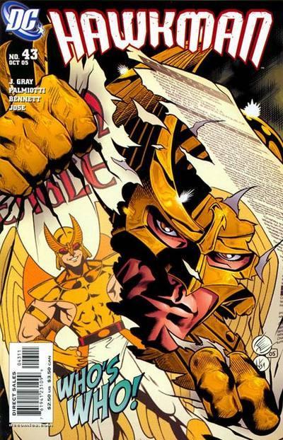 Hawkman #43