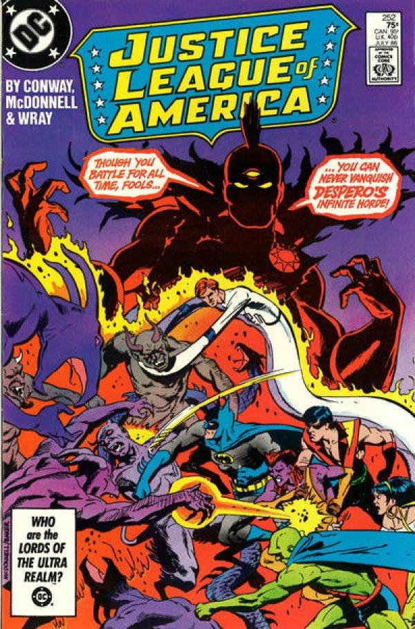 Justice League of America #252