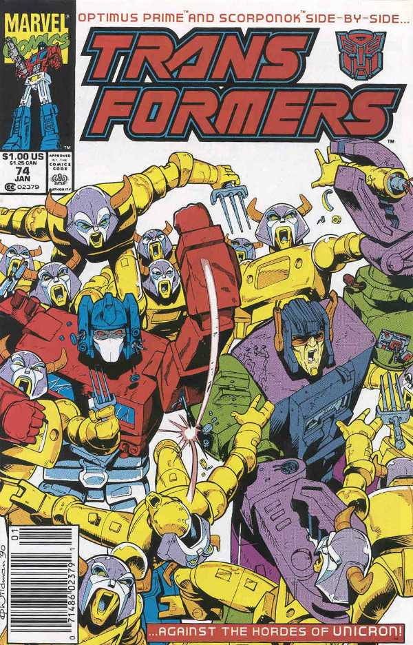 The Transformers #74