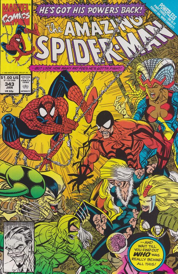 The Amazing Spider-Man #343