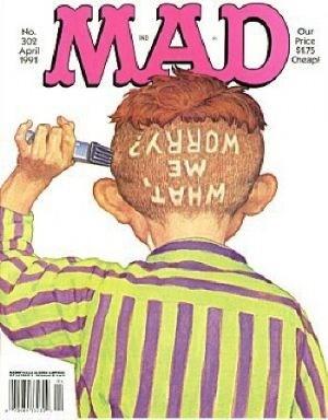 Mad Magazine #302
