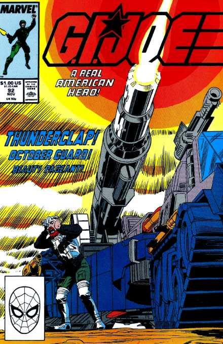 G.I. Joe: A Real American Hero #92