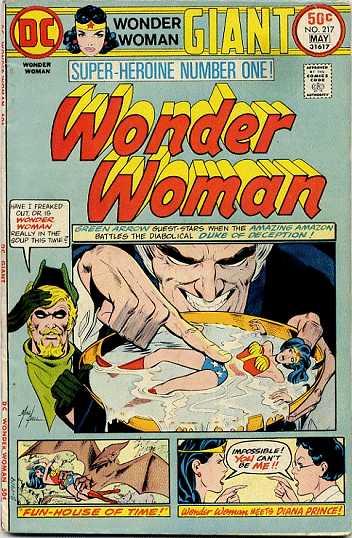 Wonder Woman #217